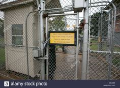 Exterior, Signs And Security Measures At The All Male Darrington ...