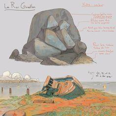 Le Roi Gradlon (Environment) https://www.artstation.com/p/J8odR Jonas Genevaz Concept and Background Artist -- Share via Artstation Android App, Artstation © 2017