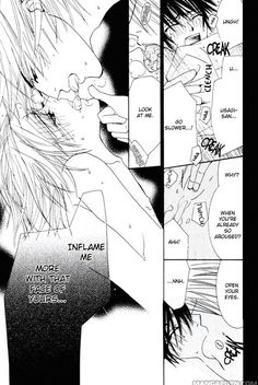 """""""Inflame me more with that face of yours"""" 