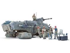 Bandai Hobby E.F.G.F. MS[G] Platoon Briefing Set 1/35 - UC Hard Graph