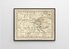 Taurus Constellation Print  Reproduction of Antique by BySamantha, $12.00
