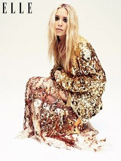 "Fashion gremlin: Alexei Hay photograph of Mary-Kate Olsen for ""Elle UK"", April 2012."