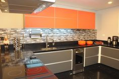 Cozinha by Marina Salomão Arquitetura e Interiores!