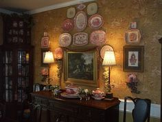 Custom Wall Scape Design Services   by EnglishTransferware on Etsy, $35.00