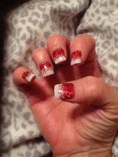 Christmas party nails 2013 !!
