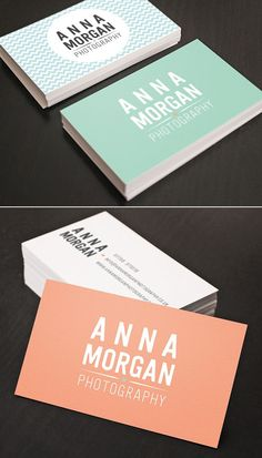 Business Cards | Soft Colour  http://arcreactions.com
