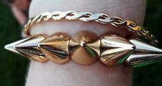 ASOS Spike Bracelet Travelling Fashion