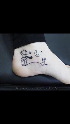 Le petit prince, il piccolo principe, tattoo
