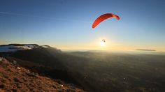 Salève (74) (FR)  décollage #parapente  SO Celestial, Sunset, Outdoor, Image, Sunsets, Outdoors, Outdoor Life, Garden, The Sunset