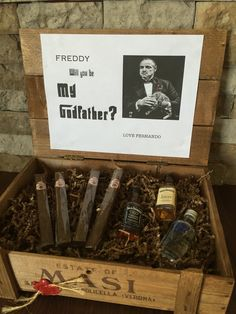 Will you be my Godfather? ... Awesome way to ask your child's Godfather for first communion , confirmation ext.