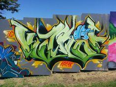 Karoe @ Paradiso Graffiti Wall 2013 by Paradiso Graffiti Wall, via Flickr