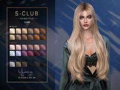 Sims 4 Tsr, Sims Cc, Sims 4 Mods Clothes, Sims 4 Clothing, Club Hairstyles, Female Hairstyles, Sims 4 Cas Mods, Sims 4 Black Hair, The Sims 4 Cabelos