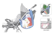 Free shipping convenient multifunctional Baby Item Bag Pram hanging bags baby stroller bag nappy bag Dual-use