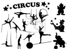 Vinilo acróbata, trapeze artist, cordón, obstruir, equilibrio, acrobatismo, astro.