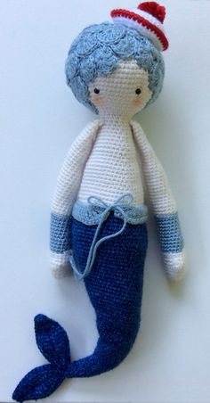 Mici the mermaid by seechriscreate on Etsy