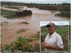 A Barragem do Chinelo que há 60 anos abastece os municípios de Carnaíba e Quixaba, captou mais de 3 metros de água devido o grande volume de água que caiu durante a chuva na terça-feira (22 de março de 2013) no município.