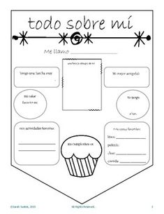 Todo Sobre Mi Banners All About Me Spanish Class Banners Spanish Worksheets, Spanish Teaching Resources, Spanish Activities, Teaching Tools, High School Spanish, Spanish Teacher, Spanish Lesson Plans, Spanish Lessons, 1st Day Of School