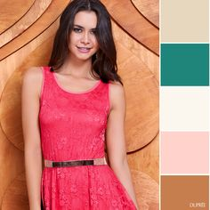 Combina tu ropa: Coral con diferentes tonos en tus accesorios y zapatos. #Ideas #Moda #Dupree Formal Dresses, Ideas, Fashion, Shoe, Accessories, Dresses For Formal, Moda, Fasion, Gowns