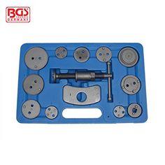 Kfz Werkzeug Bremskolbenrücksteller Werkzeugsatz 13tlg - http://autowerkzeugekaufen.de/bgs/kfz-werkzeug-bremskolbenruecksteller-13tlg