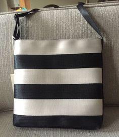 a7e092dcf003 Harveys-Streamline-Striped-Crossbody-Bag-NWT-Original-Seatbelt-Bag-USA-Made