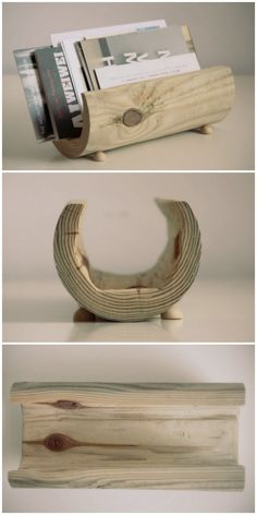 DIY letter holder made of wood // DIY Briefhalter aus Holz