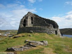 Dun Carloway, ein eisenzeitlicher Turm in Schottland (GB)