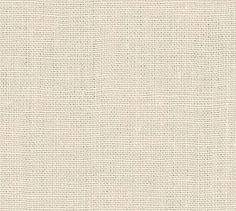 Fabric by the Yard - Belgian Linen #potterybarn