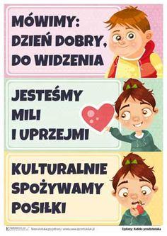 ePrzedszkolaki - karty pracy i pomoce dydaktyczne do wydruku, gry edukacyjne dla dzieci online Diy For Kids, Crafts For Kids, Class Decoration, New Class, Kids Education, Mini Albums, Montessori, Behavior, Psychology