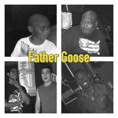 Grammy Winner Father Goose along with his incredibly talented son and band members ready for rehearsal.