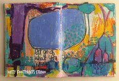 Dirty Footprints Studio: Painting The Feminine eCourse