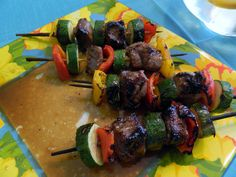 beef kabobs LOW WW PP and so delicious