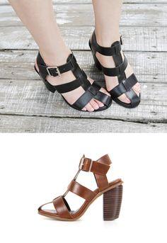 Gladiator Style Sandals from miamasvin.net // $64.00