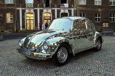 Mirror mosaic car
