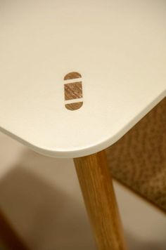 Table leg detail by Karl Andersson, Sweden