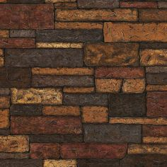 Brewster TLL41394 Clayton Charcoal Stone Texture Wallpaper Charcoal Stone Texture Home Decor Wallpaper Wallpaper