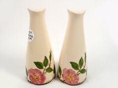Vintage Franciscan Desert Rose Tall Salt and by HeelsOnaShoestring, $50.00