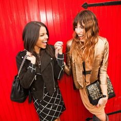 Some holiday style snaps from my collaboration with Rebecca Minkoff & The Fashion Philosophy  #besties #friends #fashion