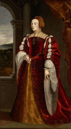 Isabel of Portugal, wife of Charles V, Holy Roman Emperor Upper Italian painter, after Titian, 3rd quarter of the 16th century. Kunsthistoriches Museum, Vienna.
