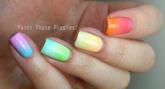 Colors of the Rainbow Gradient