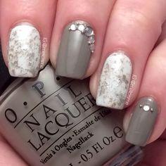 Saran Wrap nails    instagram.com/melcisme