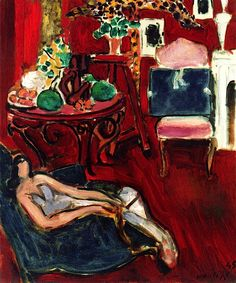 Blue Sketchbook - Henri Matisse (1945)