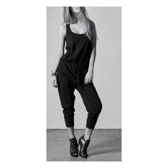 e35ad1f20 Bobi Black Jumpsuit - accessorize for street or casual wear. Tendência  Athleisure