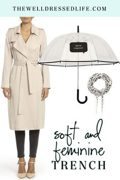 Soft and Feminine Trench