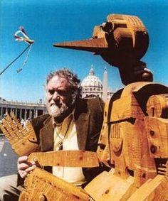 #FerdinandoCodognotto  Carved Wooden Pinocchio www.FerdinandoCodognotto.com