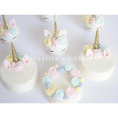 A post from Unicorn Cake Pops & Chocolate Covered Oreos. Oreo Treats, Oreo Cookies, Cakepops, Mini Cakes, Cupcake Cakes, Unicorn Cake Pops, Unicorn Cakes, Chocolate Covered Treats, Unicorn Foods