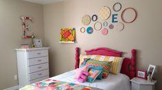 Design on a dime girl's room