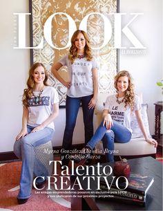 """""""Talento creativo"""", portada de LOOK #108"""