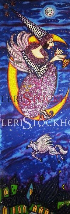 Litografi - Angelica Wiik - Tusen och en natt Köp på Galleristockholm.se