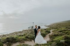 Rustic, Aussie wedding ends with an epic heli ride to the seaside| Image by LiFe Photography