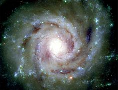 "The image of the large galaxy in Pisces called NGC 628 (or Messier 74) has been called the ""Perfect Spiral Galaxy"" due to its nearly ideal form, which is clearly revealed in this new image."